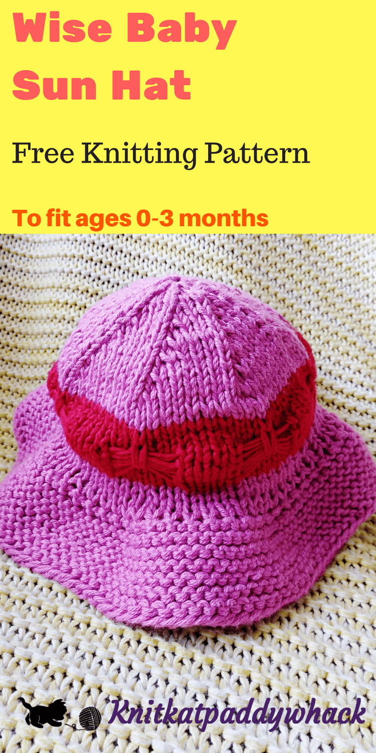Wise Baby Sun Hat Image