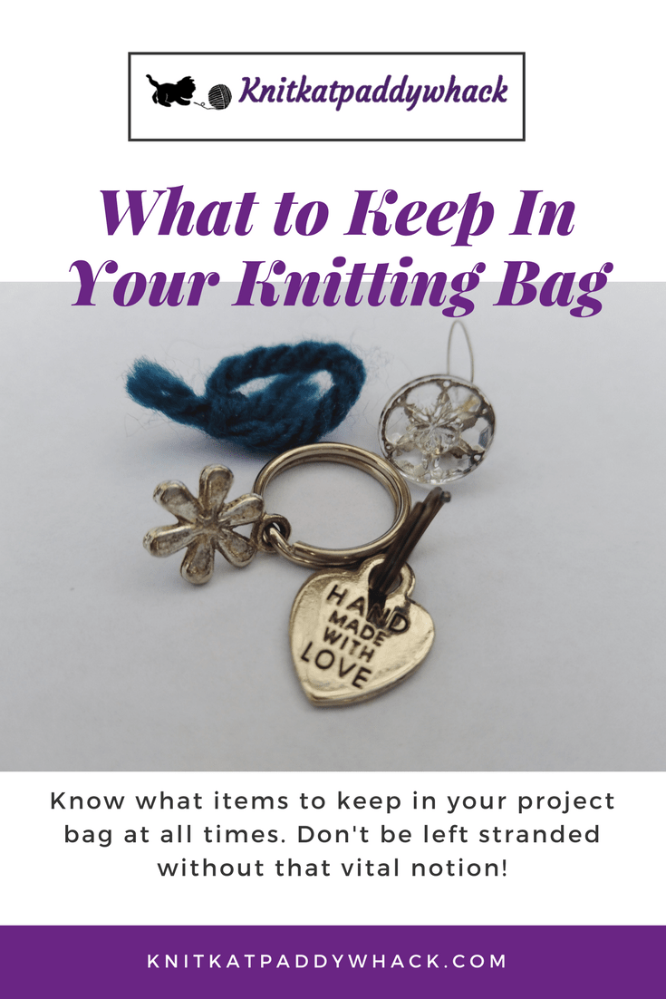 Image of Stitch markers with text