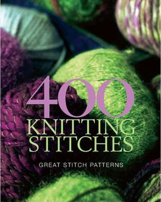 400 Knitting Stitches Book Cover